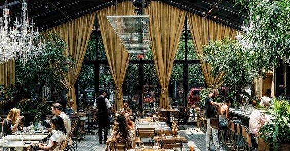 Mô hình quán cafe bằng nhà thép tiền chế.