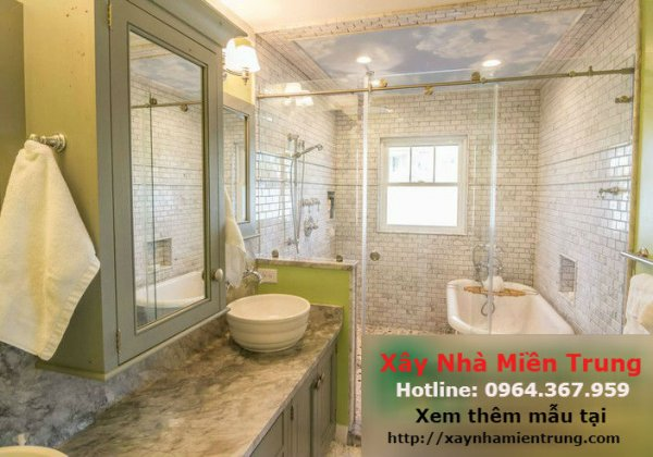Mẫu Trần Thạch Cao Phòng Tắm, Nhà Vệ Sinh 07