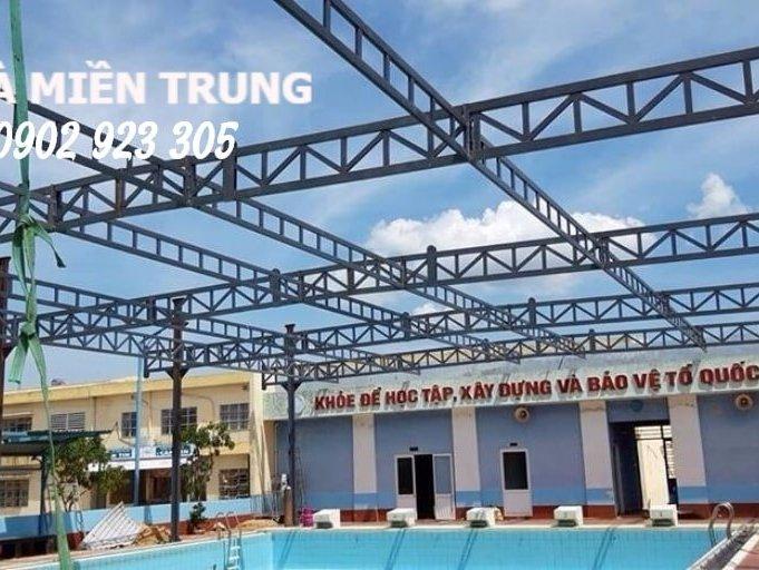 Mái Che Bể Bơi Trường THCS Lương Thế Vinh tại Đà Nẵng
