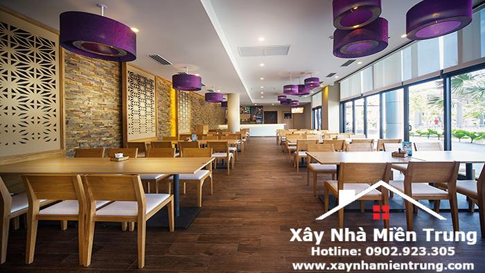 Thiết Kế Quán Cafe Thép Tiền Chế Huế